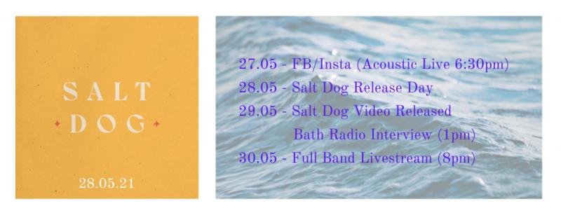 New Single – SALT DOG (28.05)