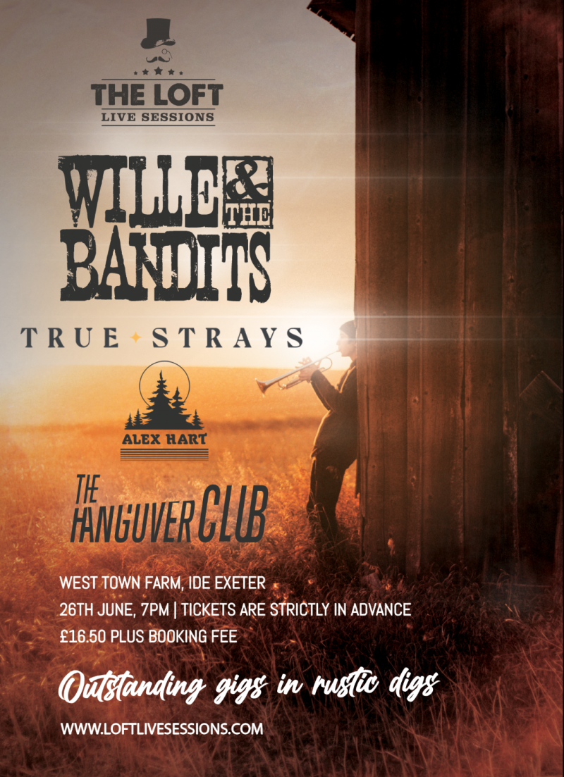 True Strays support Wille & The Bandits